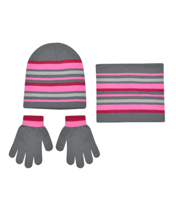 Παιδικό σετ σκουφί λαιμός & γάντια - STAMION