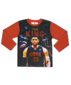 """Παιδικό t-shirt μακρυμάνικο """"SUPER STAR THE KING"""" - SUPER STAR THE KING"""