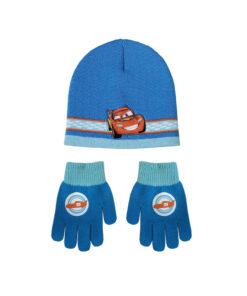 """Παιδικό σετ σκουφί & γάντια """"CARS"""" - CARS"""