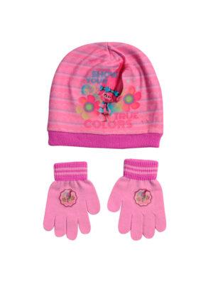 """Παιδικό σετ σκουφί & γάντια """"TROLLS"""" - TROLLS"""