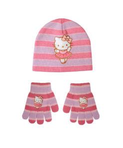 """Παιδικό σετ σκουφί & γάντια """"HELLO KITTY"""" - HELLO KITTY"""