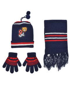 Παιδικό σετ σκουφί κασκόλ & γάντια - STAMION