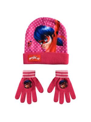 """Παιδικό σετ σκουφί & γάντια """"MIRACULOUS LADYBUG"""" - MIRACULOUS LADYBUG"""