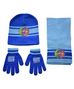 """Παιδικό σετ σκουφί κασκόλ & γάντια """"PJ MASKS"""" - PJ MASKS"""