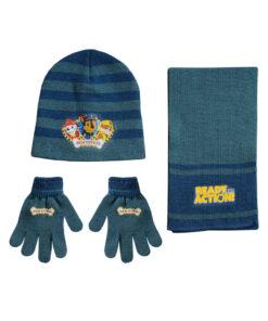 """Παιδικό σετ σκουφί κασκόλ & γάντια """"PAW PATROL"""" - PAW PATROL"""