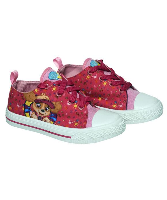 Παιδικά πάνινα παπούτσια χαμηλά με κορδόνια  PAW PATROL - PAW PATROL