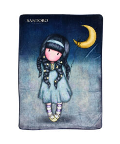 "Κουβέρτα fleece Santoro Gorjuss ""MOONLIGHT""	 140x210cm - SANTORO"