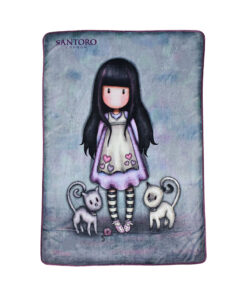 "Κουβέρτα fleece Santoro Gorjuss ""TALL TAILS""	 140x210cm - SANTORO"