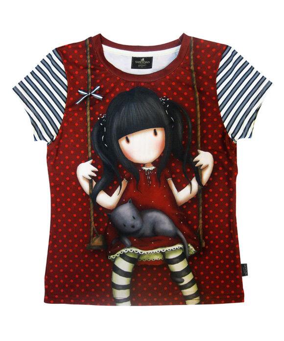Παιδικό t-shirt κοντομάνικο Santoro Gorjuss  RUBY - SANTORO