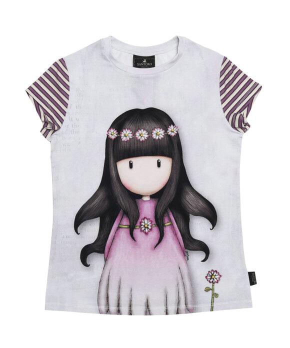 Παιδικό t-shirt κοντομάνικο Santoro Gorjuss  OOPS A DAISY - SANTORO