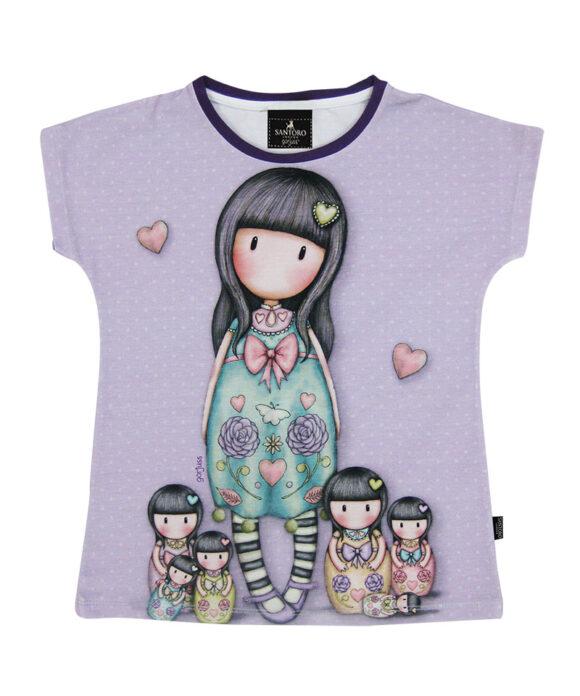 Παιδικό t-shirt κοντομάνικο Santoro Gorjuss  SEVEN SISTERS - SANTORO
