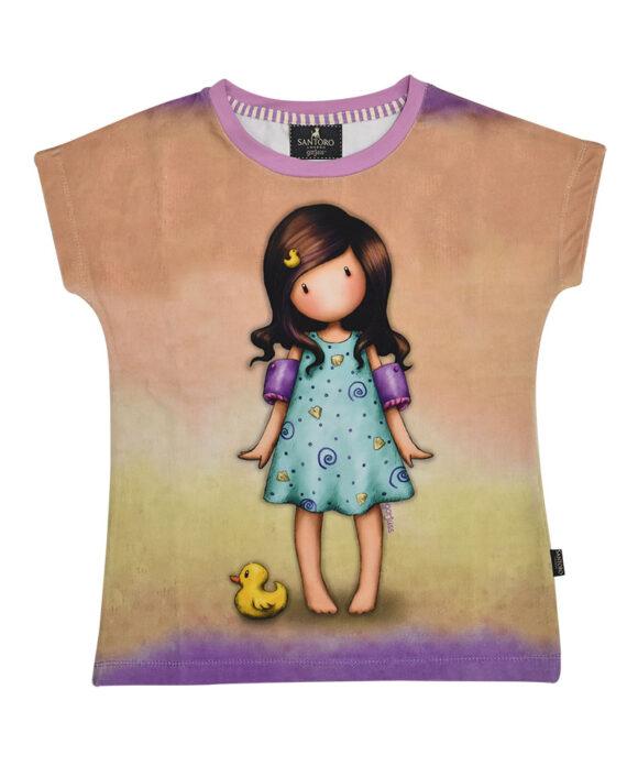 Παιδικό t-shirt κοντομάνικο Santoro Gorjuss  LITTLE DUCK - SANTORO