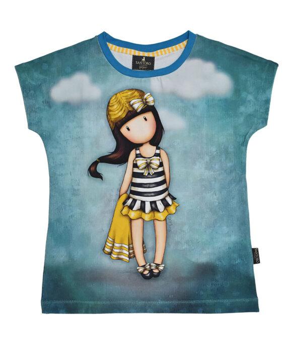 Παιδικό t-shirt κοντομάνικο Santoro Gorjuss  BEACH BELLE - SANTORO