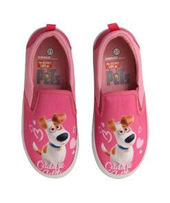 """Παιδικά πάνινα παπούτσια χαμηλά χωρίς κορδόνια """"THE SECRET LIFE OF PETS"""" - PETS"""