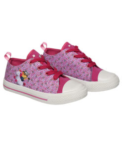 Παιδικά πάνινα παπούτσια χαμηλά με κορδόνια  MINIONS - MINIONS
