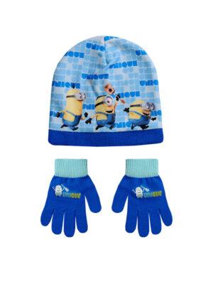 """Παιδικό σετ σκουφί & γάντια """"MINIONS"""" - MINIONS"""