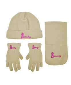 """Παιδικό σετ σκουφί κασκόλ & γάντια """"TWEETY"""" - LOONEY TUNES"""