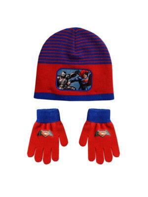 """Παιδικό σκουφί & γάντια """"BATMAN VS SUPERMAN"""" - BATMAN VS SUPERMAN"""