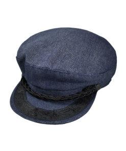 Παιδικό καπέλο πηλήκιο denim - STAMION
