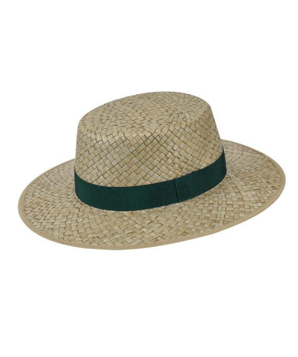 Καπέλο boater με grosgrain κορδέλα - STAMION