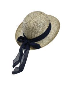 Καπέλο Bowler ψάθινο - STAMION