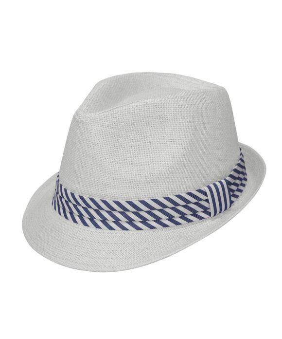 Καπέλο trilby με κορδέλα - STAMION