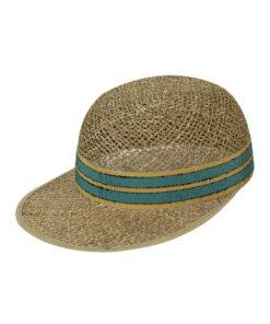 Καπέλο jockey ψάθινο Active - STAMION
