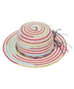 Καπέλο παραλίας floppy πολύχρωμο - STAMION