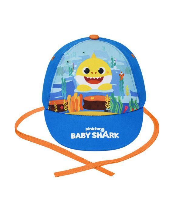 Καπέλο μπεμπέ Baby Shark για αγόρι - BABY SHARK