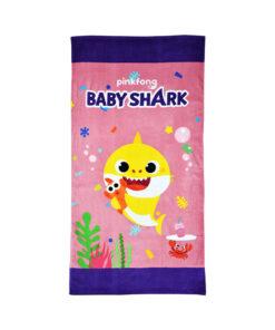 Πετσέτα θαλάσσης Baby Shark για κορίτσι - BABY SHARK