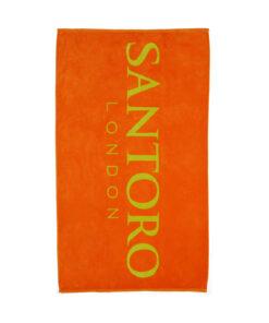 Πετσέτα θαλάσσης Santoro London πορτοκαλί - SANTORO LONDON