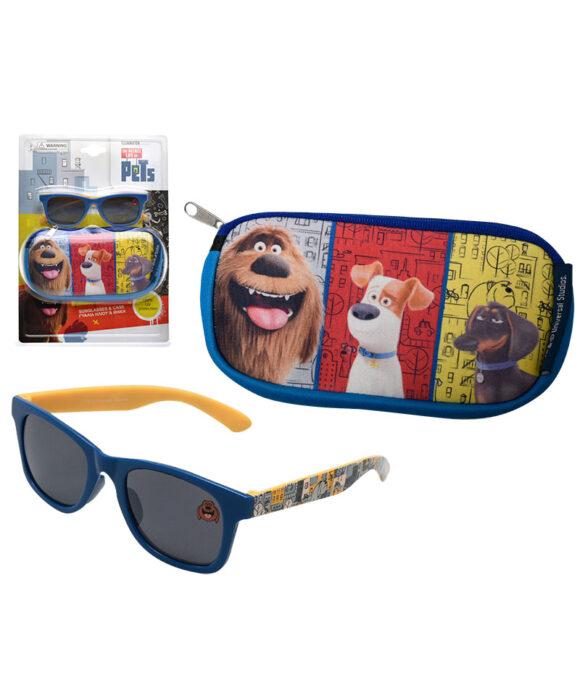 """Παιδικά γυαλιά ηλίου & θήκη CARS"""""""" - PETS"""