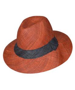 Καπέλο ψάθινο τύπου Panama χειροποίητο Μαδαγασκάρης - STAMION