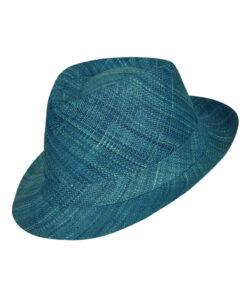 Καπέλο ψάθινο Fedora χειροποίητο Μαδαγασκάρης - STAMION