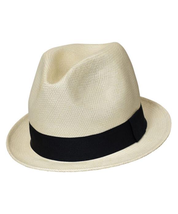Αυθεντικό καπέλο Panama με κοντό μπορ - STAMION