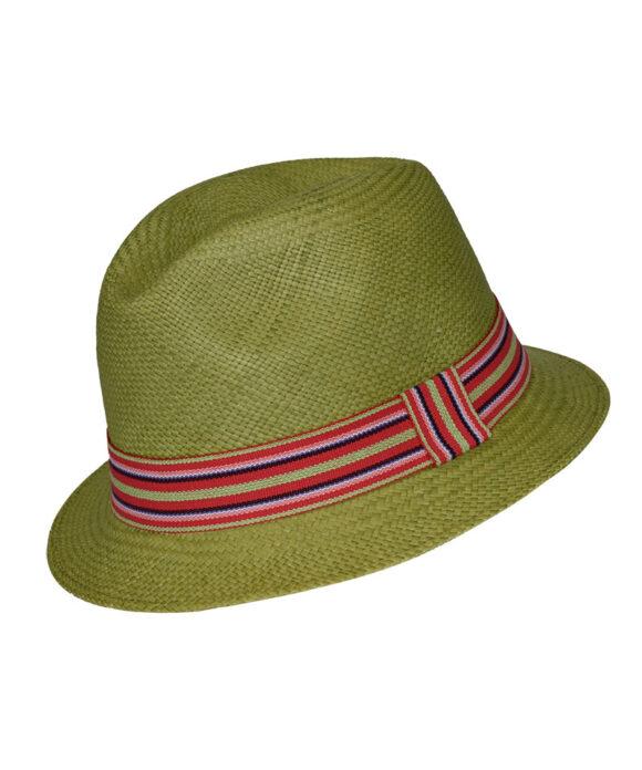 Αυθεντικό πολύχρωμο καπέλο Panama - STAMION