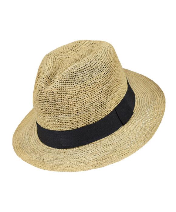 Πλεκτό αυθεντικό καπέλο Panama - STAMION