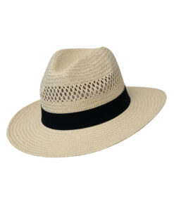 Καπέλο ανδρικό με μαύρη κορδέλα - STAMION