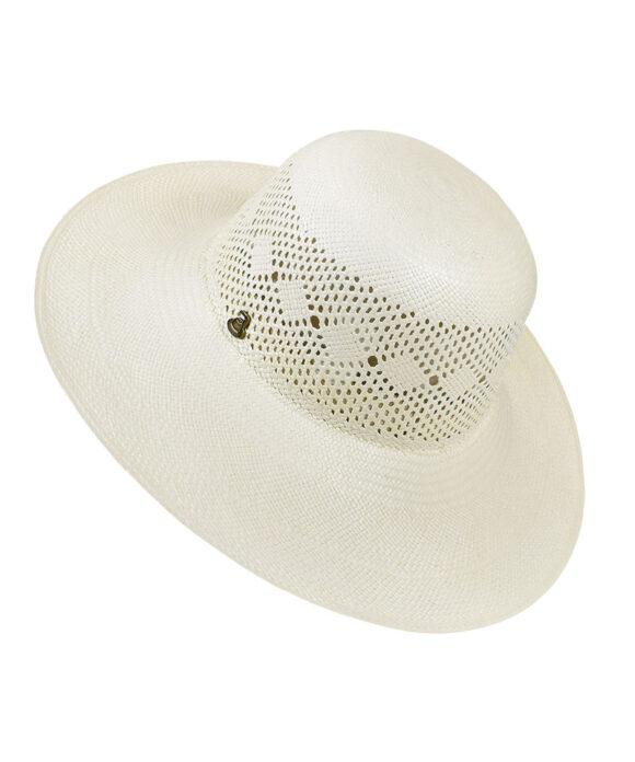 Αυθεντικό καπέλο Panama με διάτρητο μοτίβο - STAMION