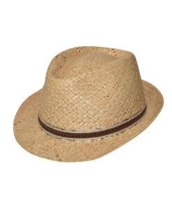 Καπέλο ψάθινο trilby - STAMION