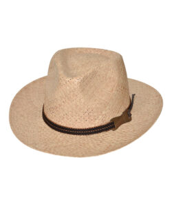 Καπέλο fedora ψάθινο - STAMION