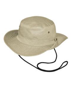 Καπέλο τύπου Αυστραλίας με μπρούντζινα κουμπιά - STAMION