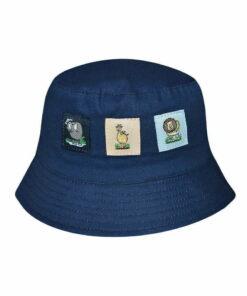 Καπέλο κώνος μπεμπέ με ζωάκια - STAMION