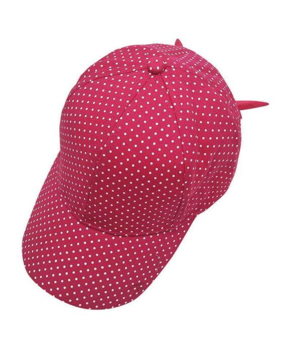 Καπέλο jockey μπεμπέ πουά - STAMION