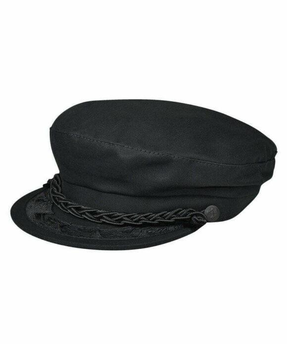 Καπέλο πηλήκιο μαύρο - STAMION