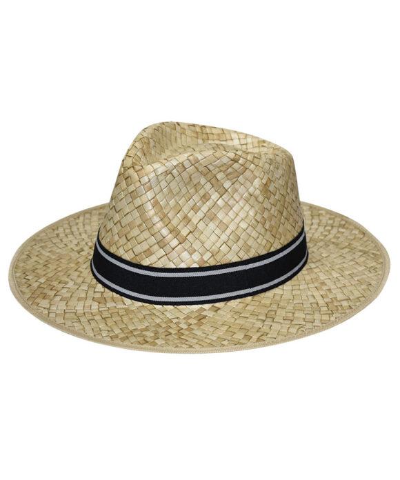 Καπέλο fedora με γκρι κορδέλα - STAMION