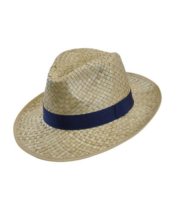 Καπέλο fedora με grosgrain κορδέλα - STAMION