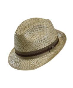Καπέλο trilby με κορδέλα jaguar - STAMION