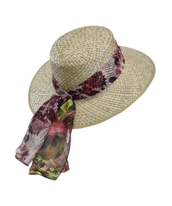 Καπέλο Venice ψάθινο - STAMION