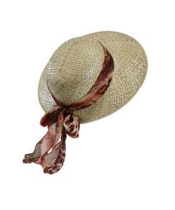 Καπέλο Παραλίας Anglais με chiffon κορδέλα - STAMION